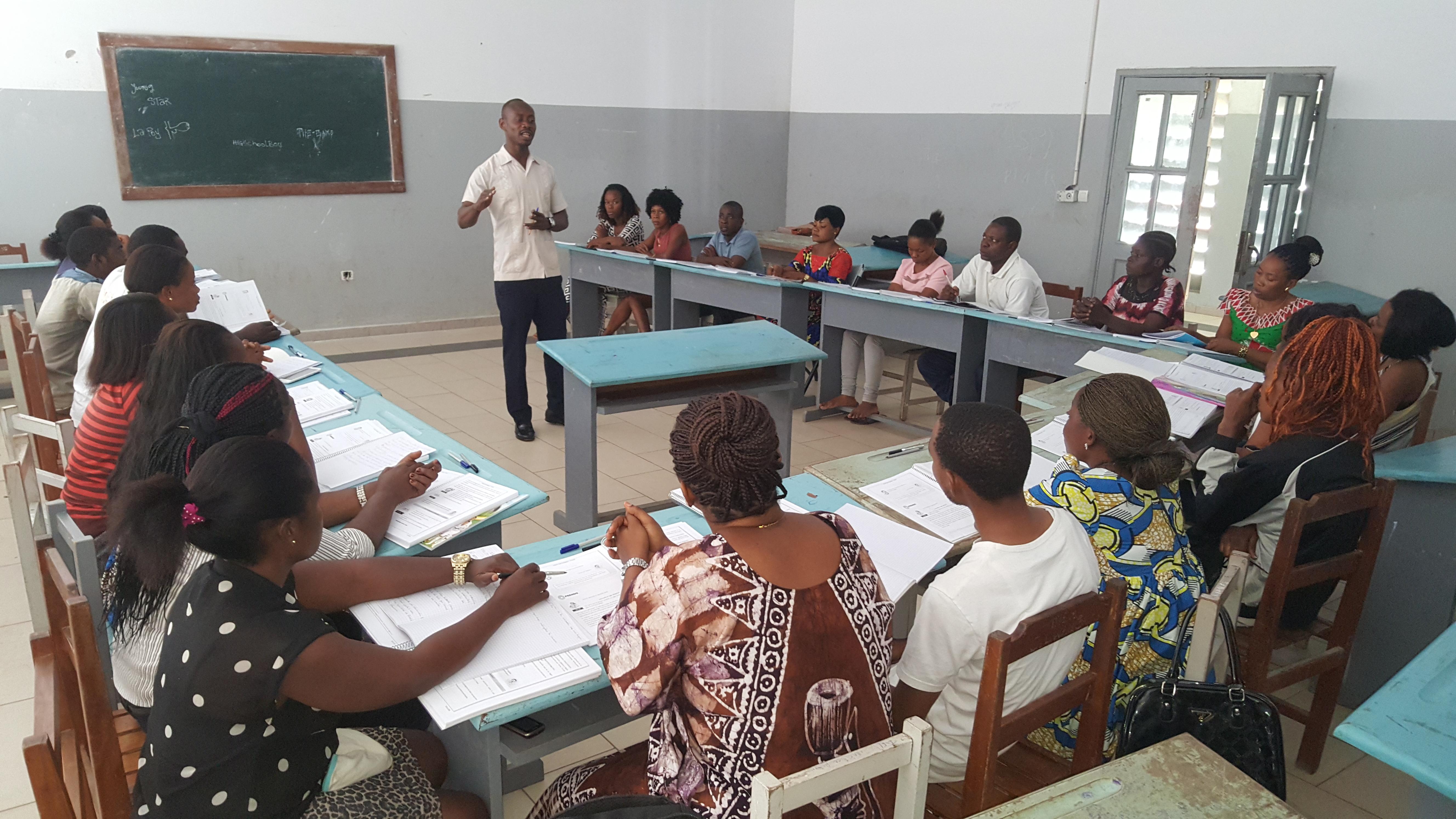Inicia el curso de Acreditación para los docentes de Enseñanza Preescolar y Primaria en Guinea Ecuatorial.