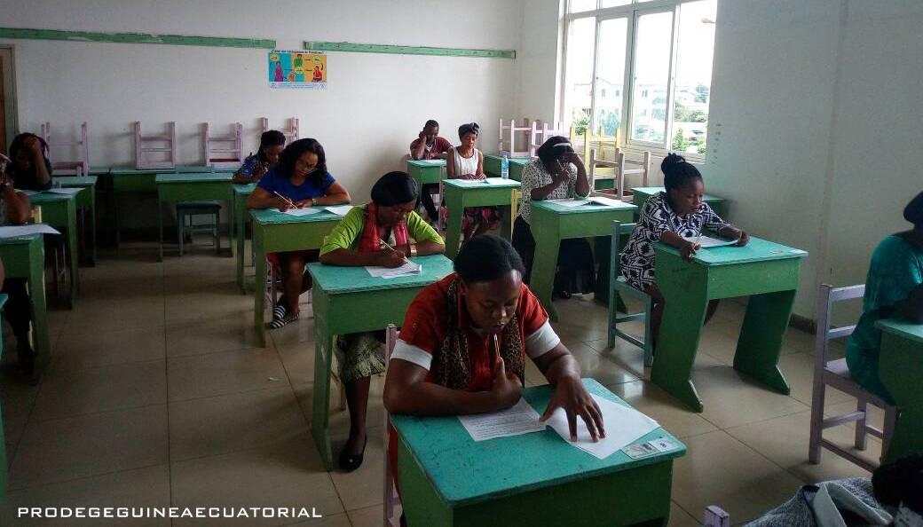 Aplicación del examen de los dos primeros módulos pedagógicos: Saber Pedagógico I y II del curso de formación hacia la acreditación.