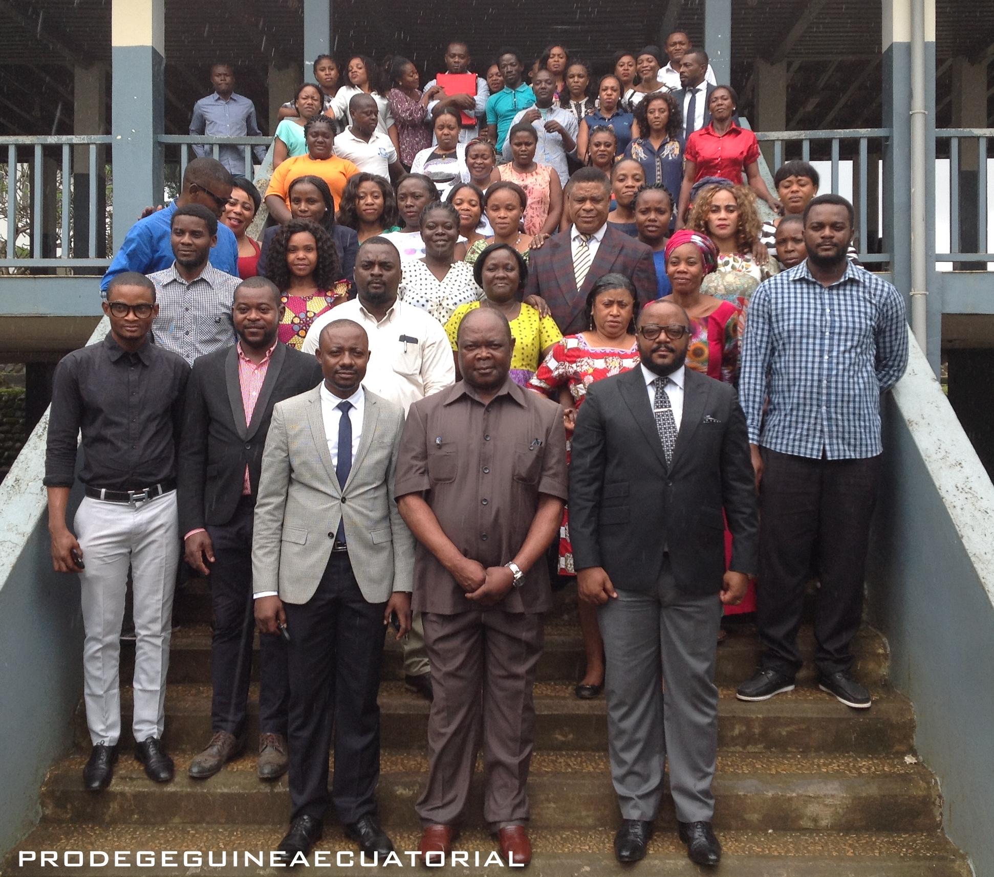 El Ministro de Educación y Ciencia visita el nucleo de Formación Docente de Malabo.
